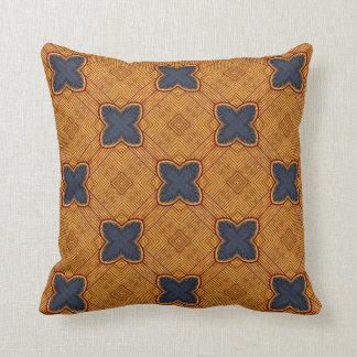 Teste padrão geométrico medieval #5B do azulejo Travesseiro