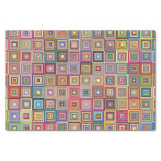 Teste padrão geométrico retro do azulejo papel de seda