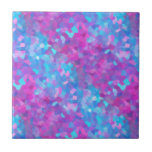 Teste padrão holográfico dos Sparkles Azulejo De Cerâmica