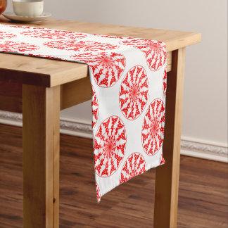 Teste padrão isolado mandala caminho de mesa pequeno