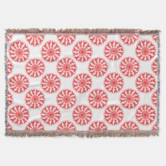 Teste padrão isolado mandala lençol