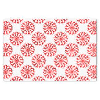 Teste padrão isolado mandala papel de seda