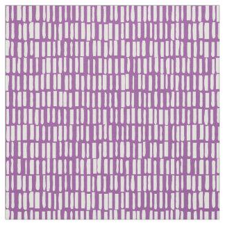 Teste padrão linear, moderno - Sagamore - roxo Tecido