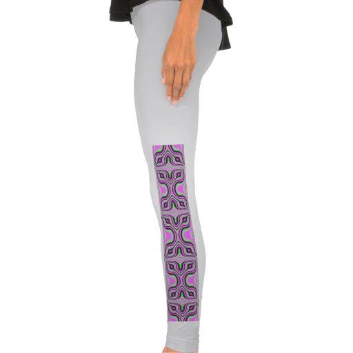 Teste padrão malva cor-de-rosa da modificação calça colada