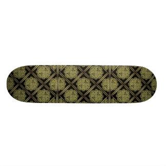 Teste padrão místico de pedra do símbolo skate