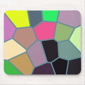 Teste padrão Mousepad da cor