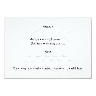 Teste padrão no roxo, verde limão, preto e branco. convite 8.89 x 12.7cm