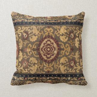 Teste padrão oriental do tapete persa do vintage almofada