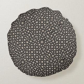 Teste padrão oriental moderno almofada redonda