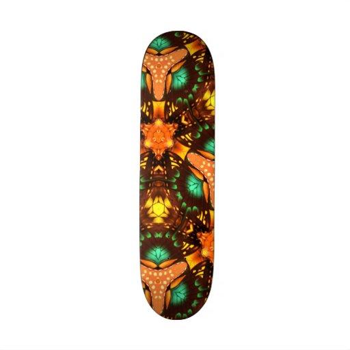 Teste padrão original colorido moderno skateboard