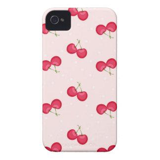 Teste padrão original das cerejas doces capa para iPhone 4 Case-Mate