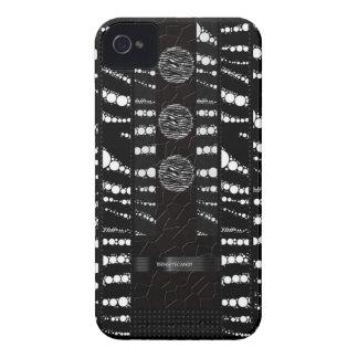 Teste padrão original de Bling da zebra Capa Para iPhone 4 Case-Mate