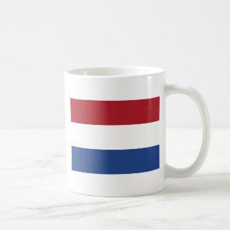 Teste padrão patriótico de Netherland Holland Caneca De Café