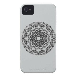 Teste padrão preto na moda capinha iPhone 4