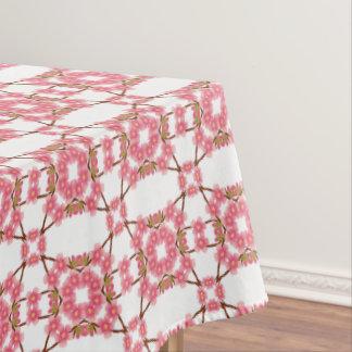 teste padrão retro floral toalha de mesa