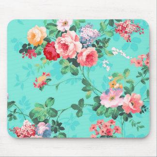 Teste padrão rosa vermelha elegante dos rosas amar mouse pad