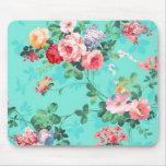 Teste padrão rosa vermelha elegante dos rosas amar mouse pads