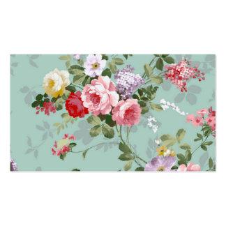 Teste padrão rosa vermelha elegante dos rosas do v cartões de visitas
