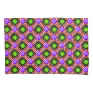 Teste padrão roxo da gema