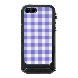 Teste padrão roxo e branco da verificação do capa incipio ATLAS ID™ para iPhone 5