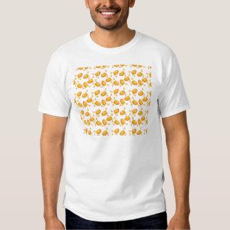 Teste padrão Running dos ovos da páscoa Tshirts