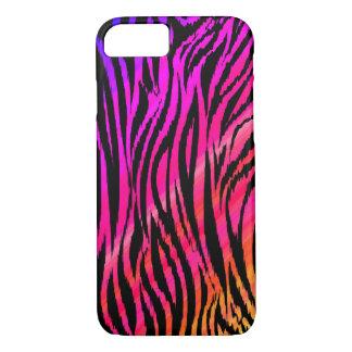 Teste padrão selvagem 01 da zebra capa iPhone 7