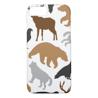 Teste padrão selvagem capa iPhone 7