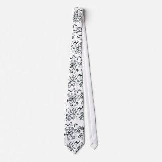 Teste padrão tribal do design gravata