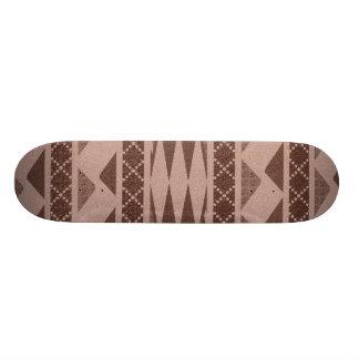 Teste padrão tribal shape de skate 21,6cm