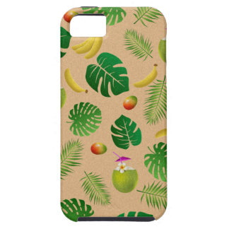 Teste padrão tropical capas para iPhone 5