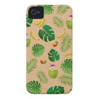 Teste padrão tropical capinha iPhone 4