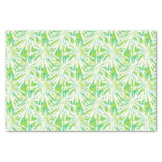 Teste padrão tropical das folhas de palmeira papel de seda