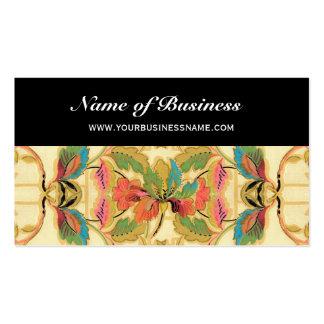 Teste padrão tropical do papel de parede floral do cartoes de visitas