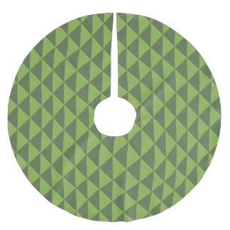 Teste padrão verde da seta das hortaliças da couve cobertura para árvore de natal de poliéster