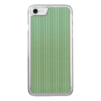Teste padrão verde das listras verticais da capa iPhone 7 carved