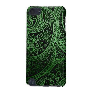 Teste padrão verde elegante de Paisley Capa Para iPod Touch 5G