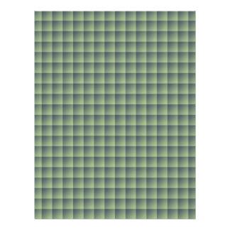 Teste padrão verde sem emenda do azulejo no caso papel de carta personalizados
