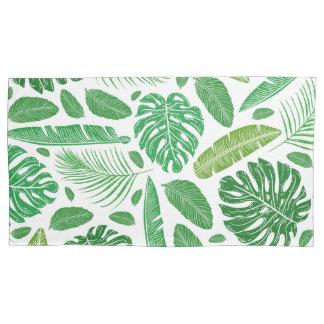 Teste padrão verde tropical das folhas