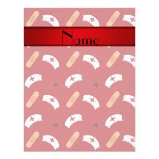 Teste padrão vermelho conhecido personalizado da panfleto coloridos