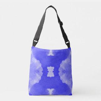 teste padrão violeta das manchas da aguarela bolsa ajustável