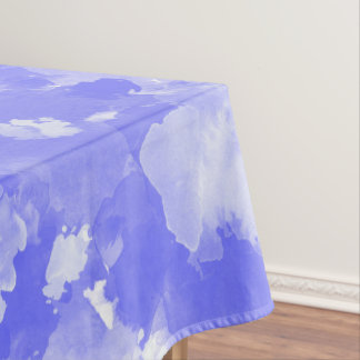 teste padrão violeta das manchas da aguarela toalha de mesa