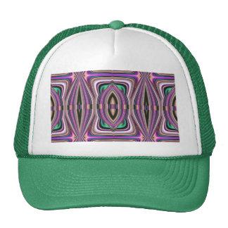 Teste padrão violeta roxo do asteca do esboço boné