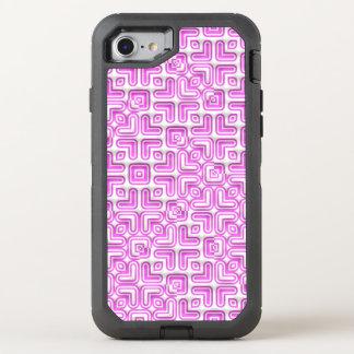 teste padrão vívido engraçado 7 (c) capa para iPhone 7 OtterBox defender