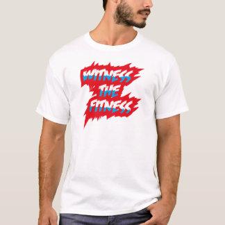 Testemunhe os homens do t-shirt da malhação camiseta