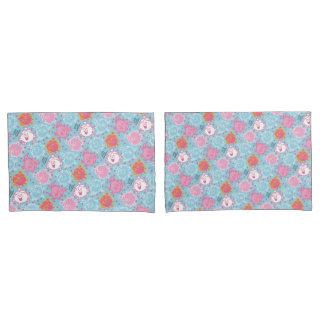 Testes padrões cor-de-rosa da senhorita princesa |