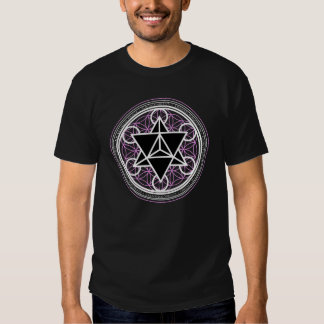 Tetraedro da estrela/camisa de Markaba (geometria T-shirts