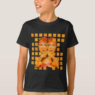 Tetrathos V1 - cabeça do coração Camiseta