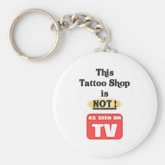 Tevê da loja do tatuagem não chaveiro