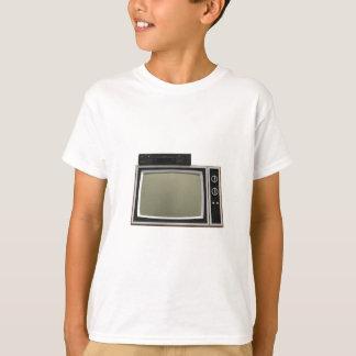 tevê e VCR do estilo do anos 80: modelo 3D Camiseta