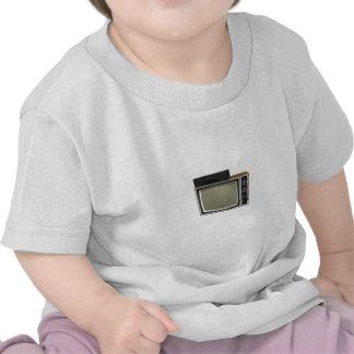 tevê e VCR do estilo do anos 80 modelo 3D Camisetas